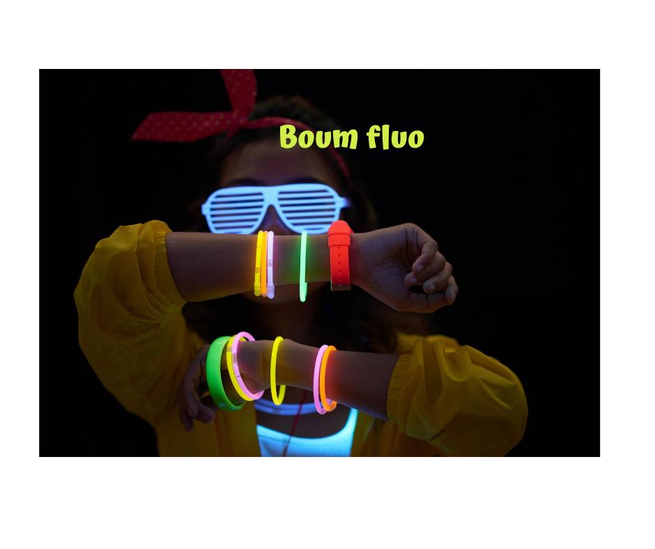 V3 BOUM FLOU - Boum fluo
