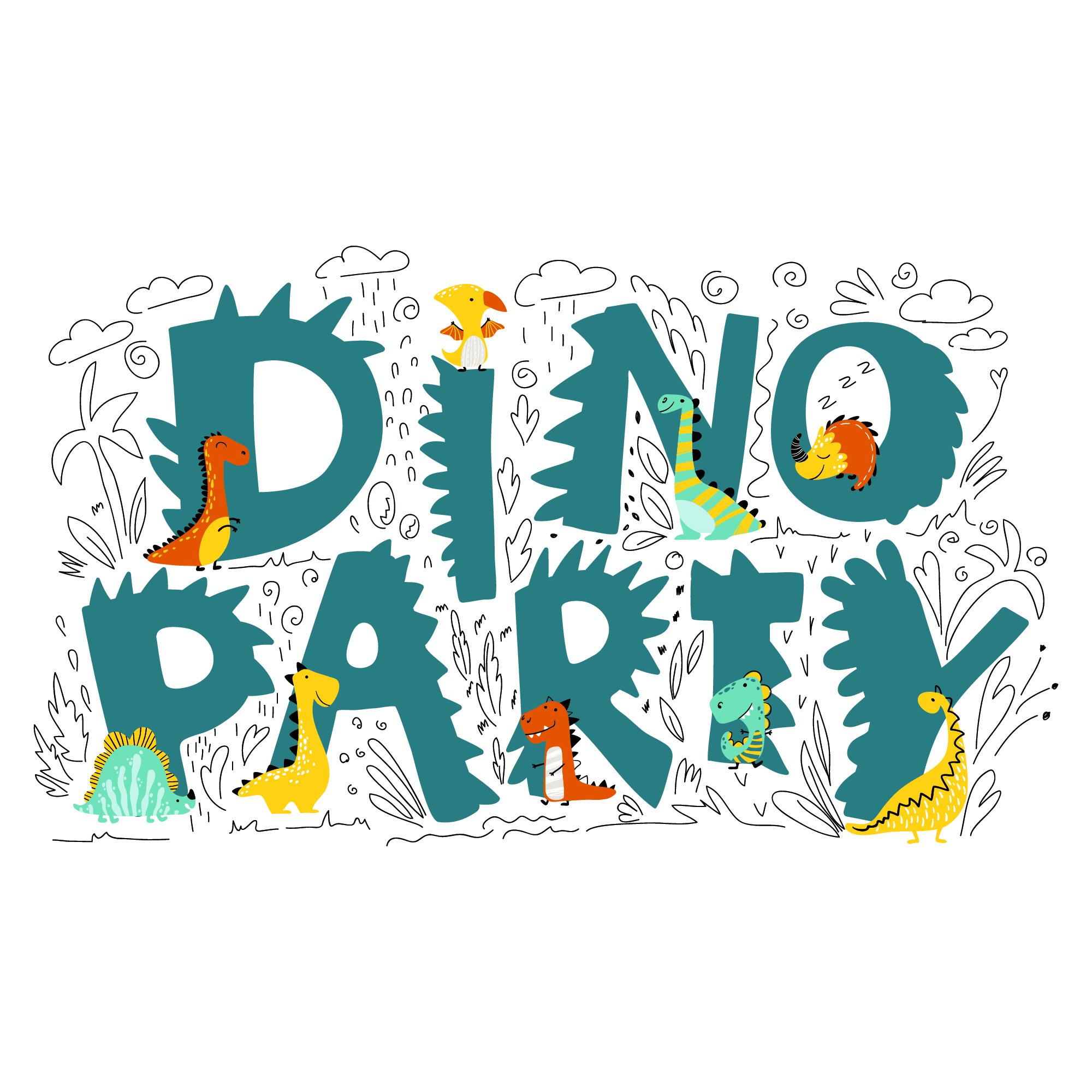 dino party - ALPHA BABY